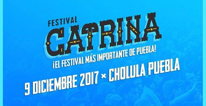 Presentan cartel del Festival Catrina 2017