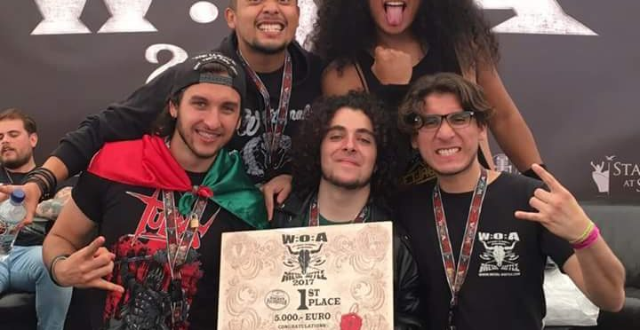 Banda mexicana 'Jet Jaguar' gana competencia mundial de heavy metal