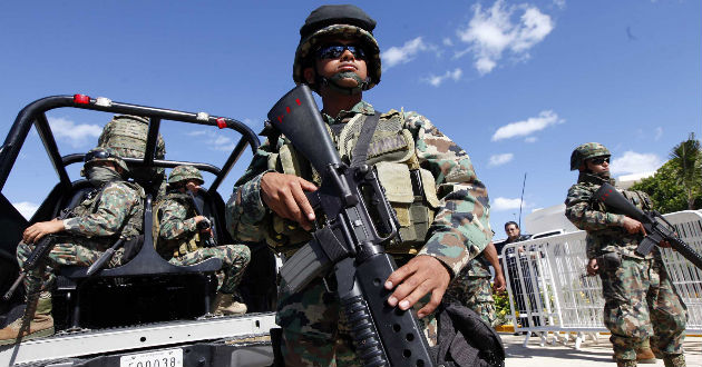 Organizaciones se manifiestan contra la Ley de Seguridad Interior