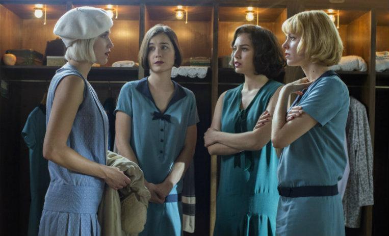 Las chicas del cable temporada dos, impulsando el poder femenino un crimen a la vez