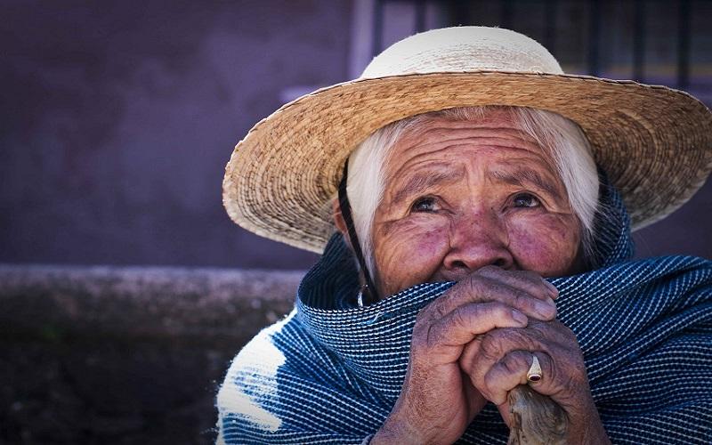 La anciana que abrazaba el árbol
