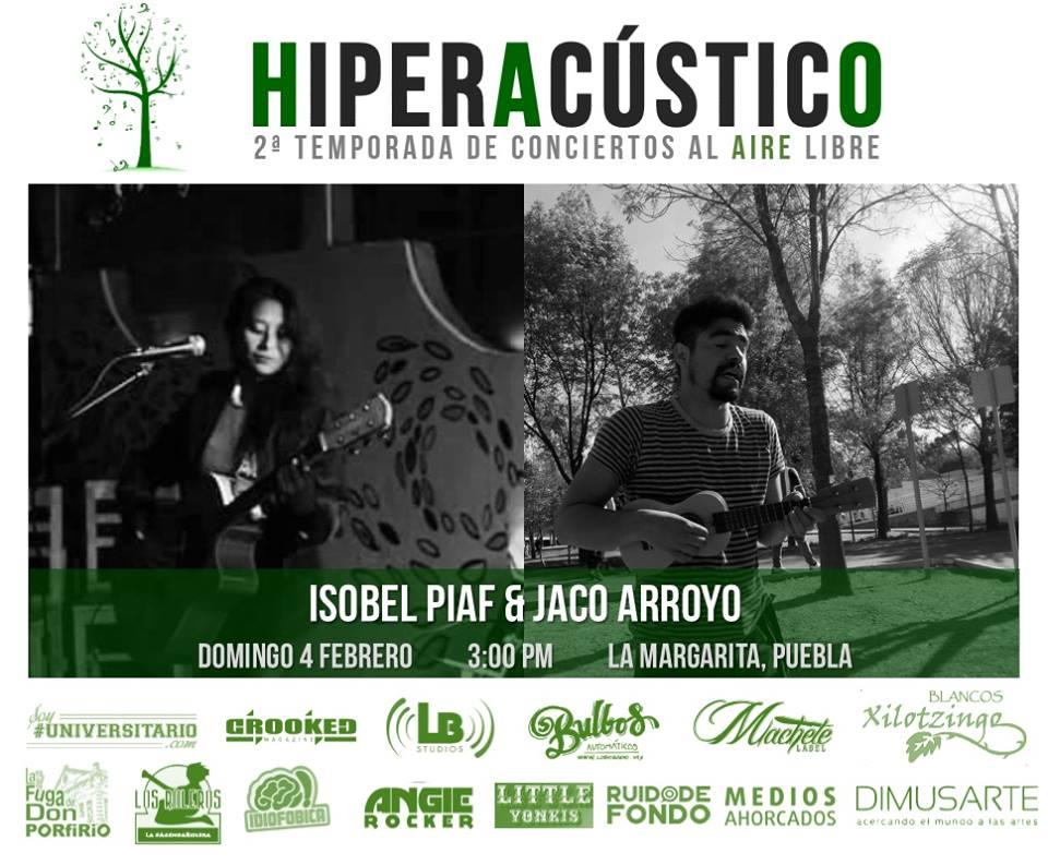 HIPERACÚSTICO: cantautores al aire libre