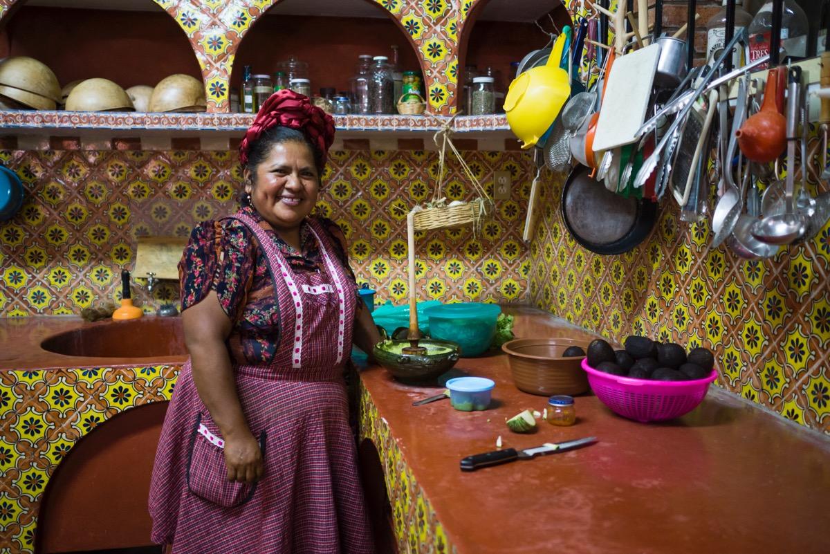 Teotlitlán, donde la palabra se entreteje en la comida infinita