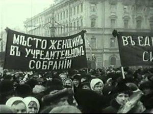 """A nadie le pasó por la mente que el Día de la Mujer pudiera convertirse en el primer día de la revolución""""."""