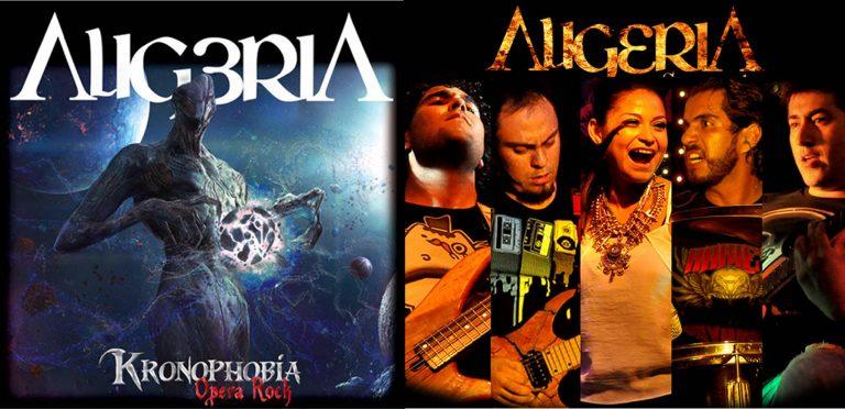 Kronophobia Ópera Rock de Aligeria es nominado Mejor Disco del Año en los Osmium Metal Awards 2017
