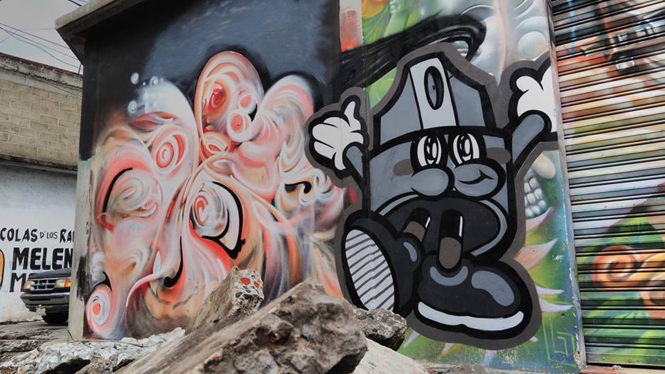 El graffitero poblano GOLPE regresa a Europa