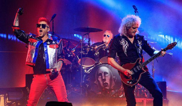 Queen anuncia gira con Adam Lambert como vocalista