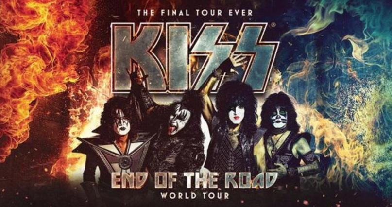 KISS en Puebla como parte de su End of the Road World Tour