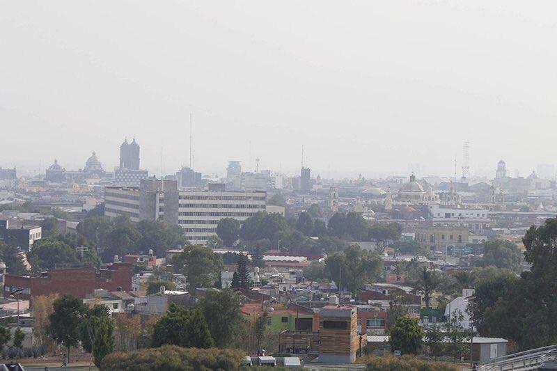 Se implementan acciones para reducir los índices de contaminación en Puebla