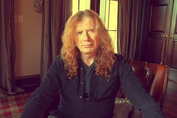 Dave Mustaine de Megadeth, diagnosticado con cáncer de garganta
