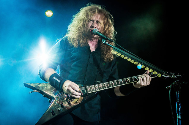 Dave Mustain da frente al cáncer y Megadeth regresa con nueva gira