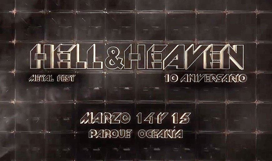 Hell And Heaven celebrará su décimo aniversario