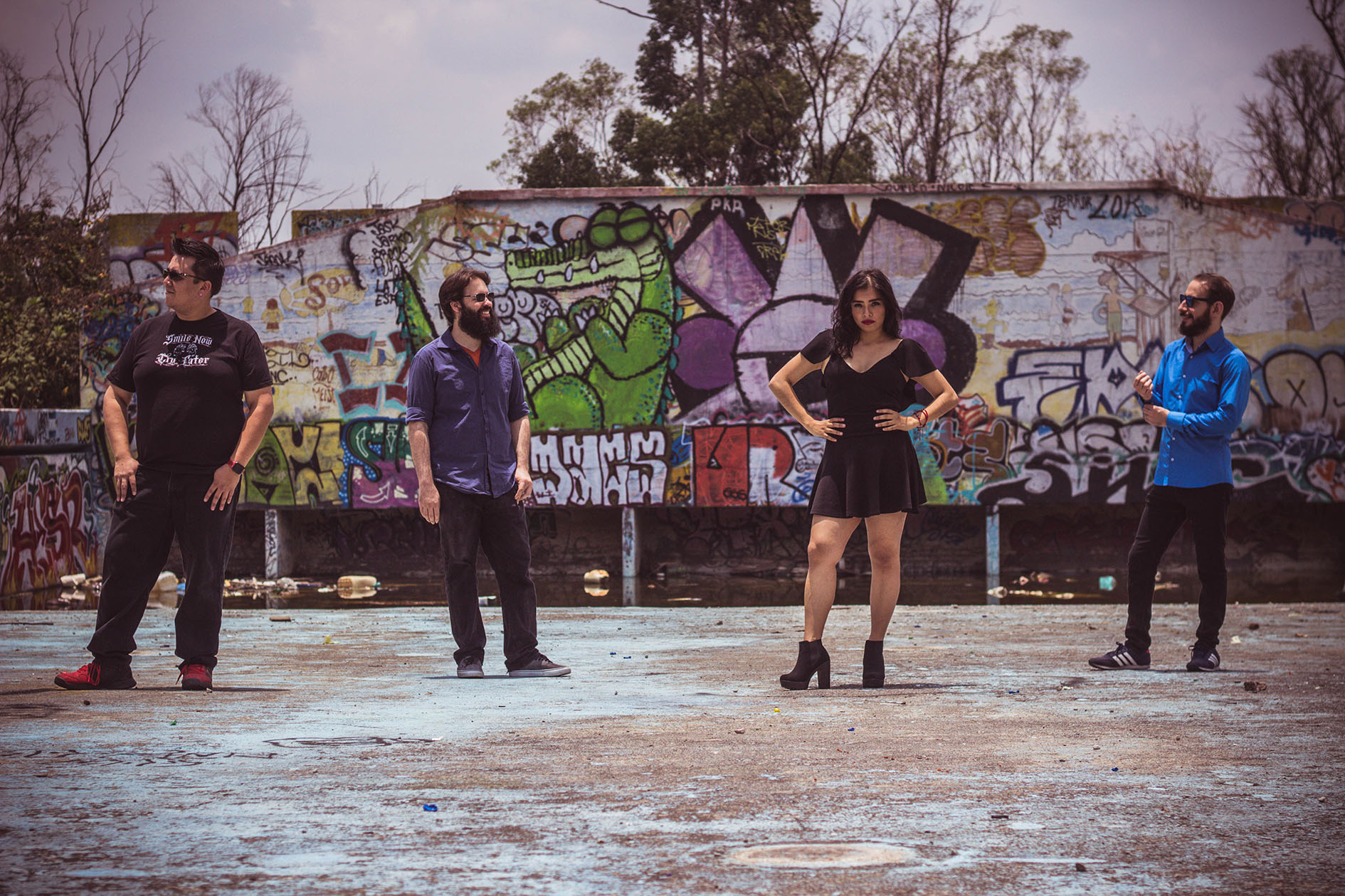 Quadrafunks, fusión de Funk Rock y Electrónica para quitar lo cuadrado a la vida