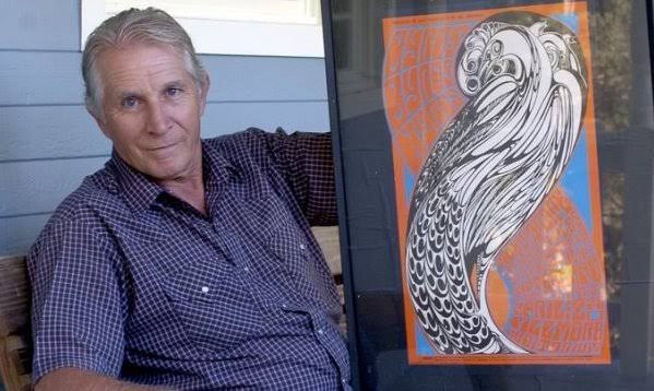 Murió Wes Wilson, el genio de los carteles psicodélicos