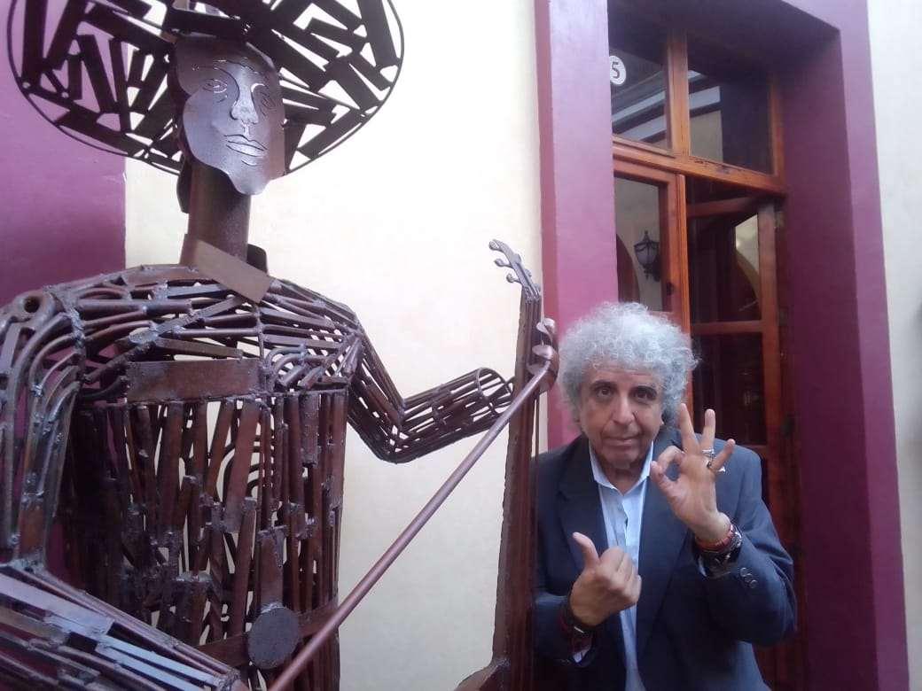Rafa Acosta de Los Locos del Ritmo publicará libro con sus vivencias en el rock