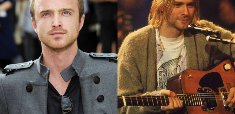 Aaron Paul quiere interpretar a Kurt Cobain en película sobre Nirvana