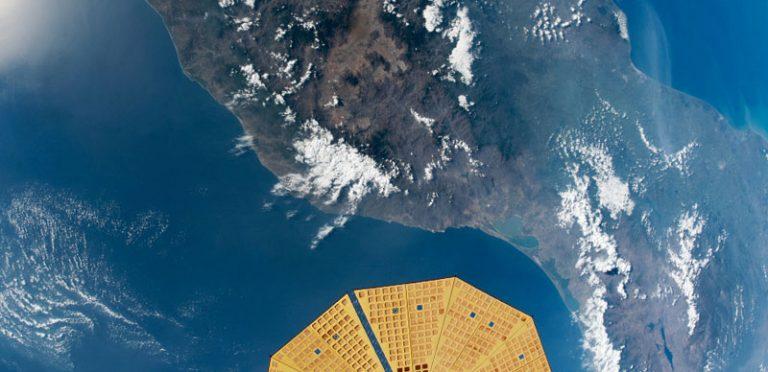 ¡Así se ve México desde el espacio! NASA publica foto impresionante