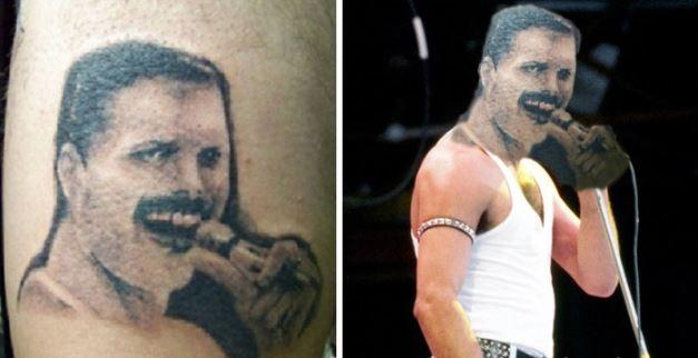 Los tatuajes rockeros que te harán llorar