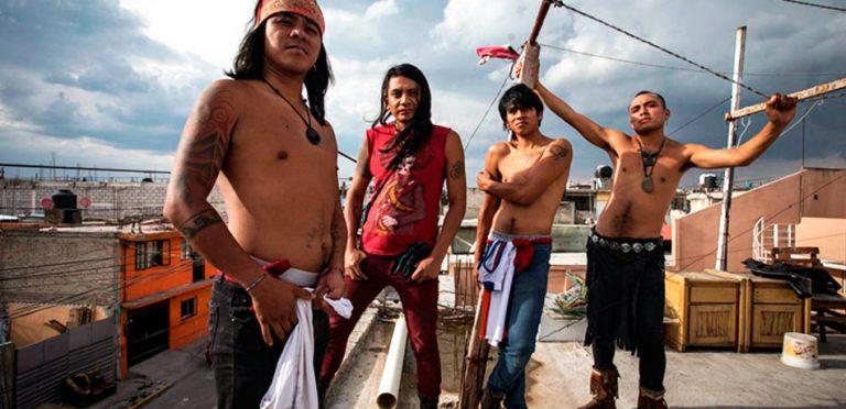 Grupo de Neza toca punk en náhuatl y con instrumentos autóctonos