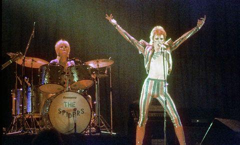 """David Bowie intentó relanzar """"Ziggy Stardust"""" desde el espacio"""