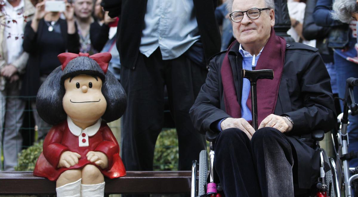 Muere Quino, el creador de Mafalda y reconocido artista gráfico a nivel internacional