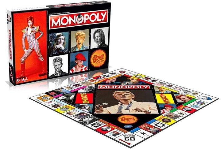 A la venta Monopoly de David Bowie en edición limitada