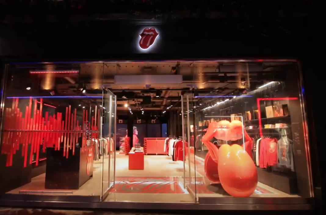 The Rollings Stones abre su primera tienda en Londres