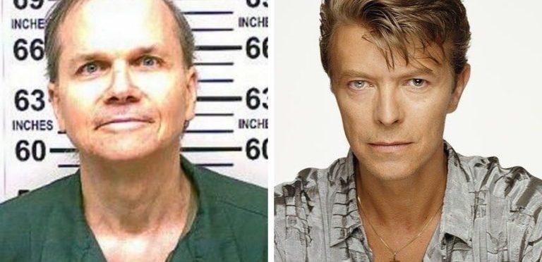 El asesino de John Lennon planeaba matar a David Bowie