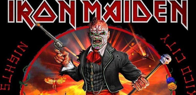 ¡Viva México! Iron Maiden lanzará disco en vivo grabado en nuestro país