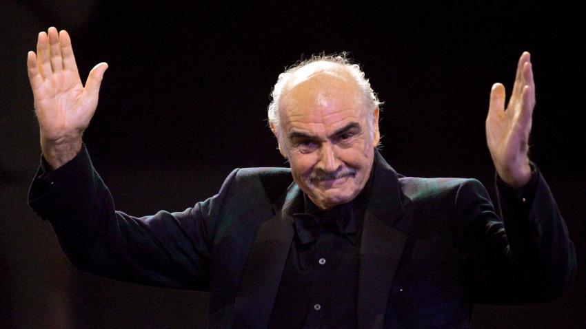 Murió la leyenda del cine mundial Sean Connery
