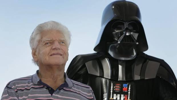 Murió Dave Prowse, actor que interpretó a Darth Vader en Star Wars