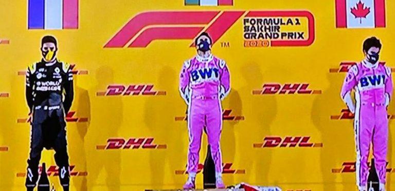 Histórico triunfo de Checo Pérez; gana el Gran Premio de Sakhir en F1