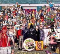 Artista recrea portada del Sgt. Pepper's Lonely Heart Club Band con los fallecidos del 2020