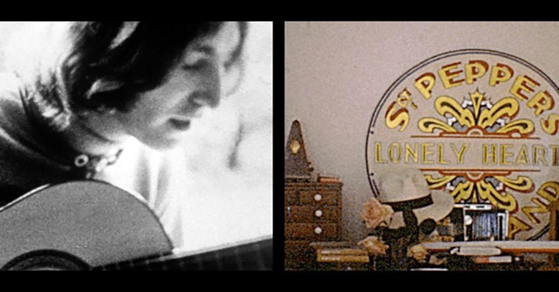 Difunden imágenes inéditas de la vida doméstica de John Lennon y Yoko Ono